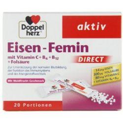 Doppelherz Aktiv Eisen-Femin DIRECT, 20 Stück, 6er Pack (6 x 22 g)