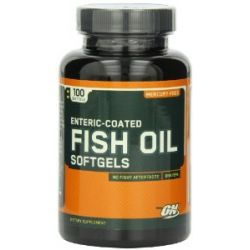 Optimum Nutrition Fischöl 100 Softgelkapseln, 3er Pack (3 x 130 g)