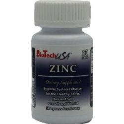BioTech USA Zinc (20) 60 Tabletten, 1er Pack (1 x 20 g)