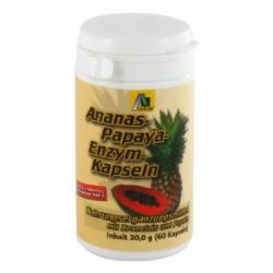 Avitale Ananas Papaya Kapseln, 60 Stück, 1er Pack (1 x 30 g)