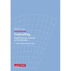 Controlling: Begriff, Elemente, Methoden und Schnittstellen [Broschiert] [Broschiert]