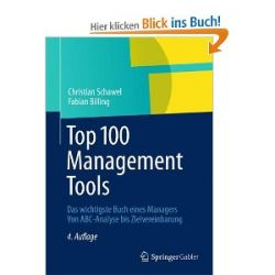 Top 100 Management Tools: Das wichtigste Buch eines Managers Von ABC-Analyse bis Zielvereinbarung [Gebundene Ausgabe] [Gebundene Ausgabe]
