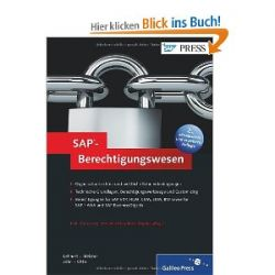 SAP-Berechtigungswesen: Konzeption und Realisierung (SAP PRESS) [Gebundene Ausgabe] [Gebundene Ausgabe]
