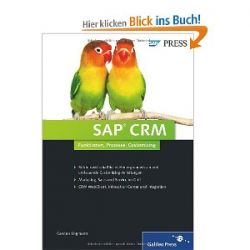 SAP CRM (SAP PRESS) [Gebundene Ausgabe] [Gebundene Ausgabe]
