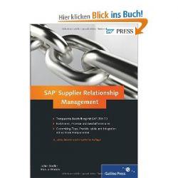 SAP Supplier Relationship Management (SAP PRESS) [Gebundene Ausgabe] [Gebundene Ausgabe]