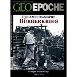 GEO Epoche (mit DVD) / GEO Epoche mit DVD 60/2013 - US-Bürgerkrieg [Broschiert] [Broschiert]