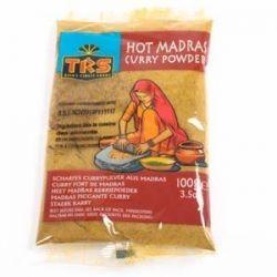 TRS - Madras Currypulver - 100g - Scharf mit Chilipfeffer - Indisches Gewürz