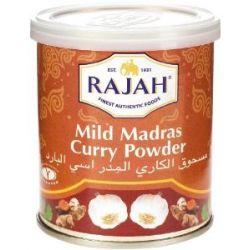 Rajah Madras Curry Pulver mild, 100g