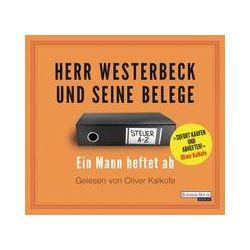 Hörbücher: Herr Westerbeck und seine Belege  von Jens Westerbeck
