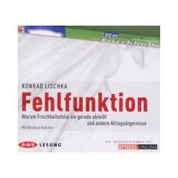 Hörbücher: Fehlfunktion  von Konrad Lischka