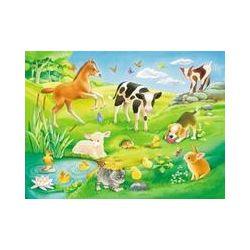 Spielwaren: Ravensburger 05407 - My First Puzzles: Süße Tierkinder, Puzzle,