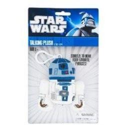 Spielwaren: Joy Toy 100243 - Star Wars: R2D2, sprechender Plüschschlüsselanhänger, 10 cm