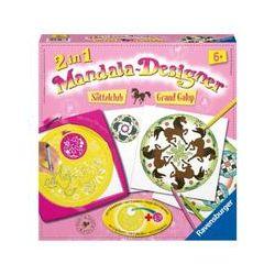 Spielwaren: Ravensburger 29737 - 2in1 Mandala-Designer® Saddle Club