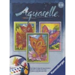 Spielwaren: Schmetterling, drei Aquarelle Midi (Ravensburger 29316)