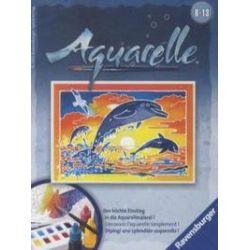 Spielwaren: Ravensburger 29167 - Aquarelle, Spielende Delfine