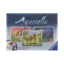 Spielwaren: Ravensburger 29468 - Aquarelle Maxi, Glückliche Pferde, Bildgröße 30 x 24 cm
