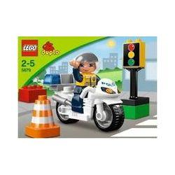 Spielwaren: LEGO® Duplo Town 5679 - Motorradpolizist  von Lego Duplo
