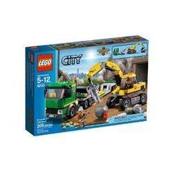 Spielwaren: LEGO® City 4203 - Grubenbagger mit Transporter  von Lego City