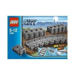 Spielwaren: LEGO® City 7499 - Flexible Schienen  von Lego City