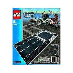 Spielwaren: LEGO® City 7280 - Gerade Straße und Kreuzung  von Lego City