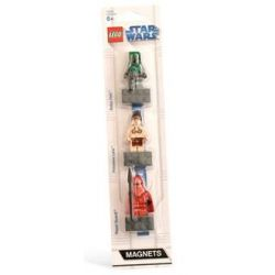 Spielwaren: LEGO Star Wars 852552 - 3er Magnet Set: Boba Fett, Royal Guard, Leia
