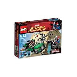 Spielwaren: LEGO® SUPER HEROES MARVEL Spider-Man: Jagd im Spider Cycle