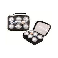 Spielwaren: Schildkröt - Boule/Boccia/Petanque Set aus 3x2 Metall Kugeln
