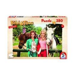 Spielwaren: Schmidt Spiele 56087 - Bibi und Tina, Freundinnen für immer, Puzzle zum Film,