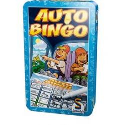Spielwaren: Schmidt Spiele 51216 - Auto Bingo, Metalldose