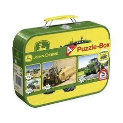 Spielwaren: Schmidt Spiele 55590 - John Deere: Puzzle-Box 2x60,Puzzle im Metallkoffer