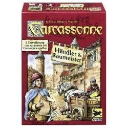 Spielwaren: Schmidt Spiele 48135 - Carcassonne 2. Erweiterung: Händler & Baumeister  von Klaus-Jürgen Wrede