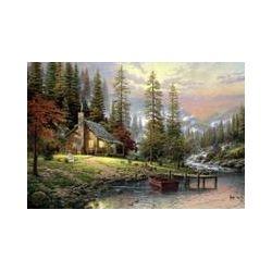 Spielwaren: Schmidt Spiele 58455 - Haus in den Bergen,Puzzle  von Thomas Kinkade