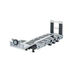 Spielwaren: SIKU 6723 - R/C 3-Achs-Tiefladeranhänger, elektrisch, 1:32