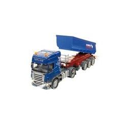 Spielwaren: SIKU 6725 - R/C Scania: Zugmaschine mit Kippsattel