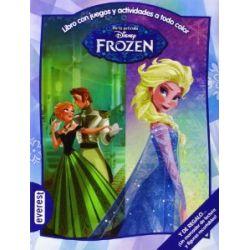 Frozen. Libro con juegos y actividades a todo color: Y de regalo... ¡Un marcador de lectura y figuras recortables!. (Multieducativos Disney) [Spanisch] [Taschenbuch]