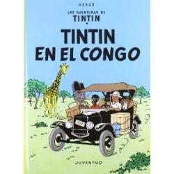Tintín en el Congo (LAS AVENTURAS DE TINTIN CARTONE) [Spanisch] [Gebundene Ausgabe]
