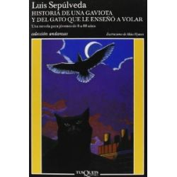 Historia de una gaviota y del gato que le endeno a volar (Andanzas, Band 11) [Spanisch] [Taschenbuch]