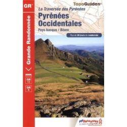 Pyrenees Occidentales GR10/GR8 PNR Pays Basque Bearn: FFR.1086 [Französisch] [Taschenbuch]