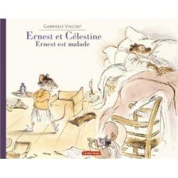 Ernest et Célestine - Ernest est malade [Französisch] [Taschenbuch]