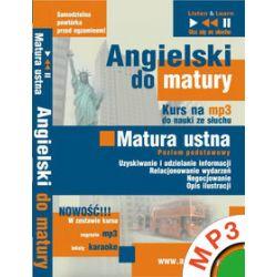 Angielski domatury Matura ustna Poziom podstawowy - Dorota Guzik - audiobook (MP3)
