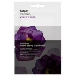 tołpa: botanic, czarna róża. odżywcza maska-peeling regenerująca 2x6ml