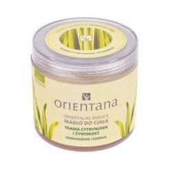 Orientana orientalne bogate masło do ciała trawa cytrynowa i żywokost 100g