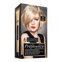 Loreal farba do włosów RECITAL PREFERENCE, Z 9.1 bardzo jasny popielaty blond