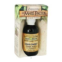 Mate Factor - Liquid Energy Yerba Mate with Guarana Alcohol Free - 2 oz.