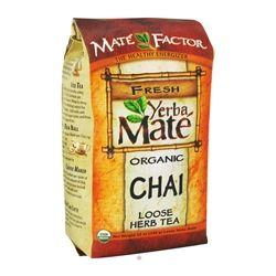 Mate Factor - Organic Yerba Mate Loose Herb Tea Chai - 12 oz.