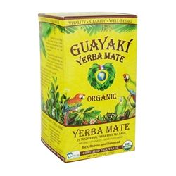 Guayaki - Yerba Mate Traditional Tea Bags 100% Organic - 25 Tea Bags