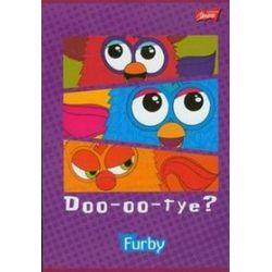 Zeszyt Furby A5 w 3 linie 16 stron