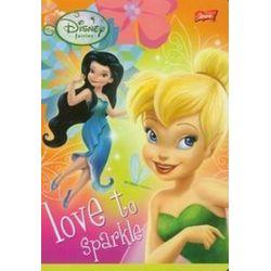Zeszyt Disney Wróżki Love To Sparkle A5 w kratkę 16 kartek