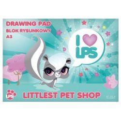 Starpak - Littlest Pet Shop - Blok rysunkowy A3