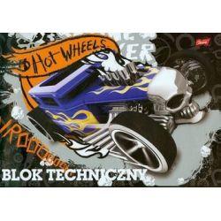Blok techniczny Hot Wheels A4 10 kartek